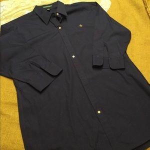 Men's Ralph Lauren blue dress shirt